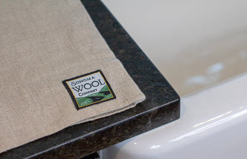 Linen Sleeve - Sonoma Wool Company - Sustainable Home Goods
