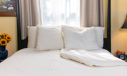 Wool Comforter - Sonoma Wool Company - Sustainable Home Goods Wool Bedding