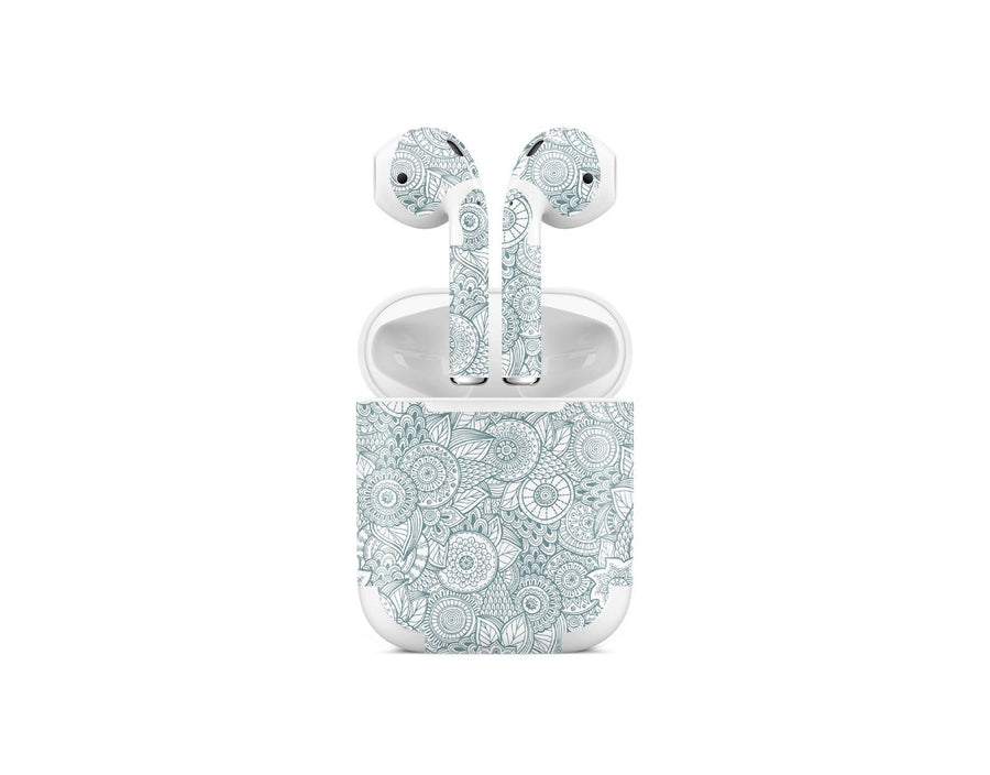 Sticky Bunny Shop AirPods 1 Abstract Floral AirPods 1 Skin
