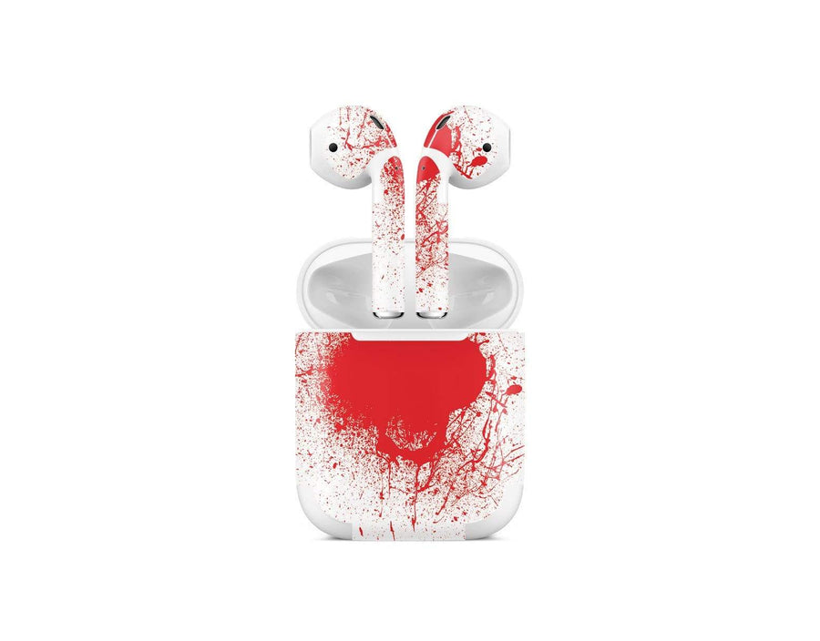 Sticky Bunny Shop AirPods 1 Blood Spatter AirPods 1 Skin