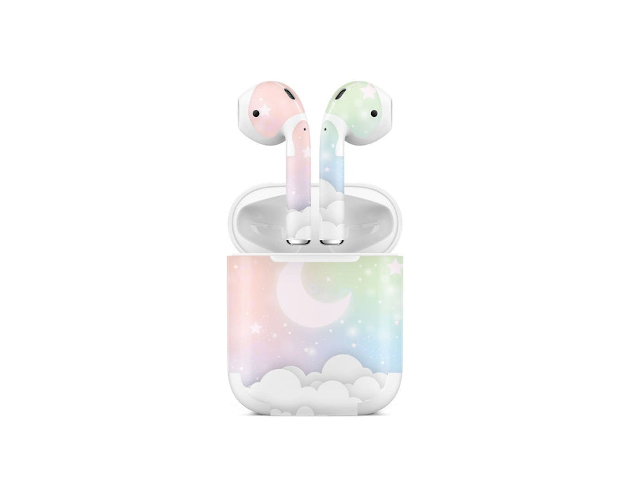 Sticky Bunny Shop AirPods 1 Pastel Lunar Sky AirPods 1 Skin