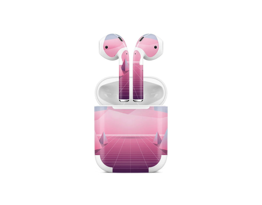 Sticky Bunny Shop AirPods 1 Pastel Vaporwave AirPods 1 Skin