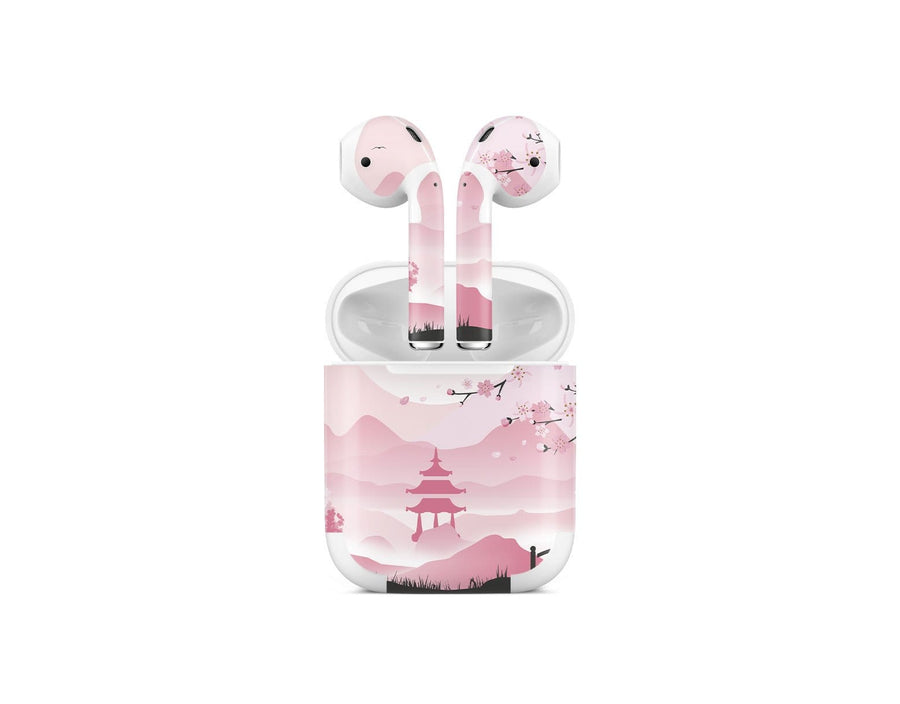 Sticky Bunny Shop AirPods 1 Pink Sakura AirPods 1 Skin