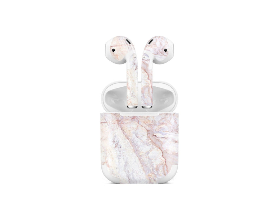 Sticky Bunny Shop AirPods 1 Rose Gold Marble AirPods 1 Skin