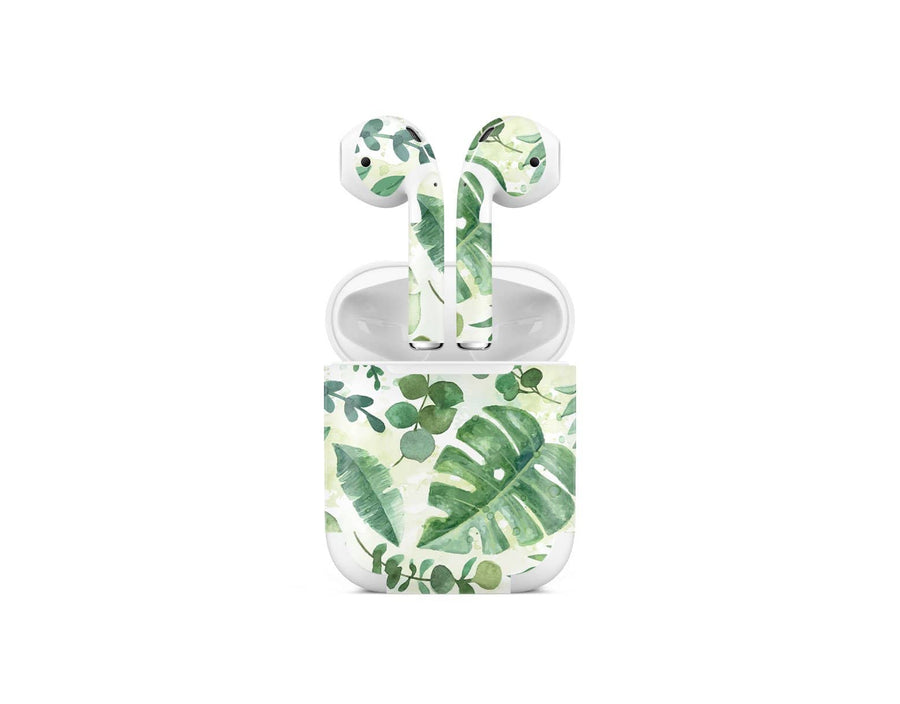 Sticky Bunny Shop AirPods 1 Watercolor Leaves AirPods 1 Skin
