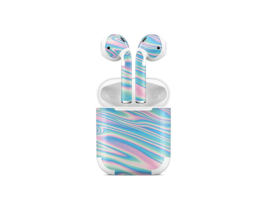 Sticky Bunny Shop AirPods 1 Wavy Pastel AirPods 2 Skin