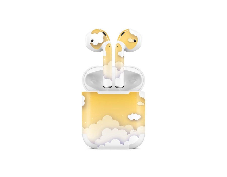 Sticky Bunny Shop AirPods 1 Yellow Clouds In The Sky AirPods 1 Skin
