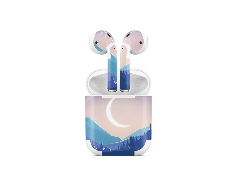 Sticky Bunny Shop AirPods 2 Lunar Mountains AirPods 2 Skin