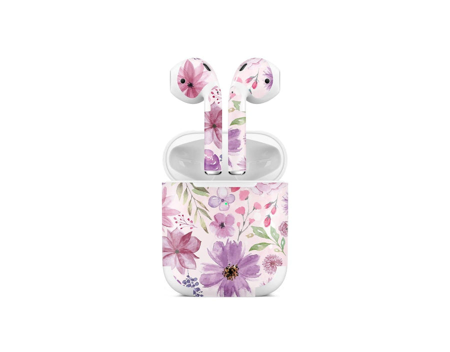 Sticky Bunny Shop AirPods 2 Watercolor Flowers AirPods 2 Skin
