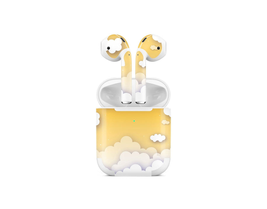 Sticky Bunny Shop AirPods 2 Yellow Clouds In The Sky AirPods 2 Skin