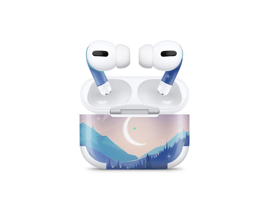 Sticky Bunny Shop AirPods Pro Lunar Mountains AirPods Pro Skin