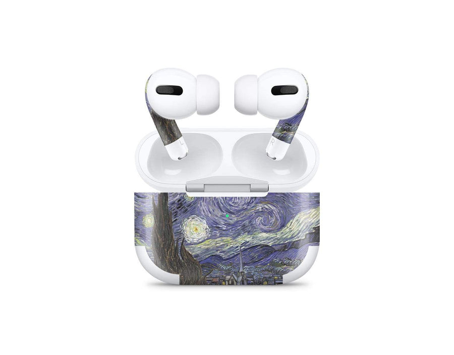 Sticky Bunny Shop AirPods Pro Starry Night By Van Gogh AirPods Pro Skin