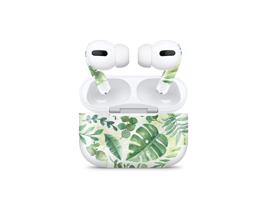 Sticky Bunny Shop AirPods Pro Watercolor Leaves AirPods Pro Skin