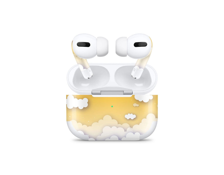 Sticky Bunny Shop AirPods Pro Yellow Clouds In The Sky AirPods Pro Skin