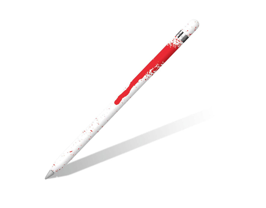 Sticky Bunny Shop Apple Pencils Generation 1 Pencil Blood Spatter Apple Pencil Skin