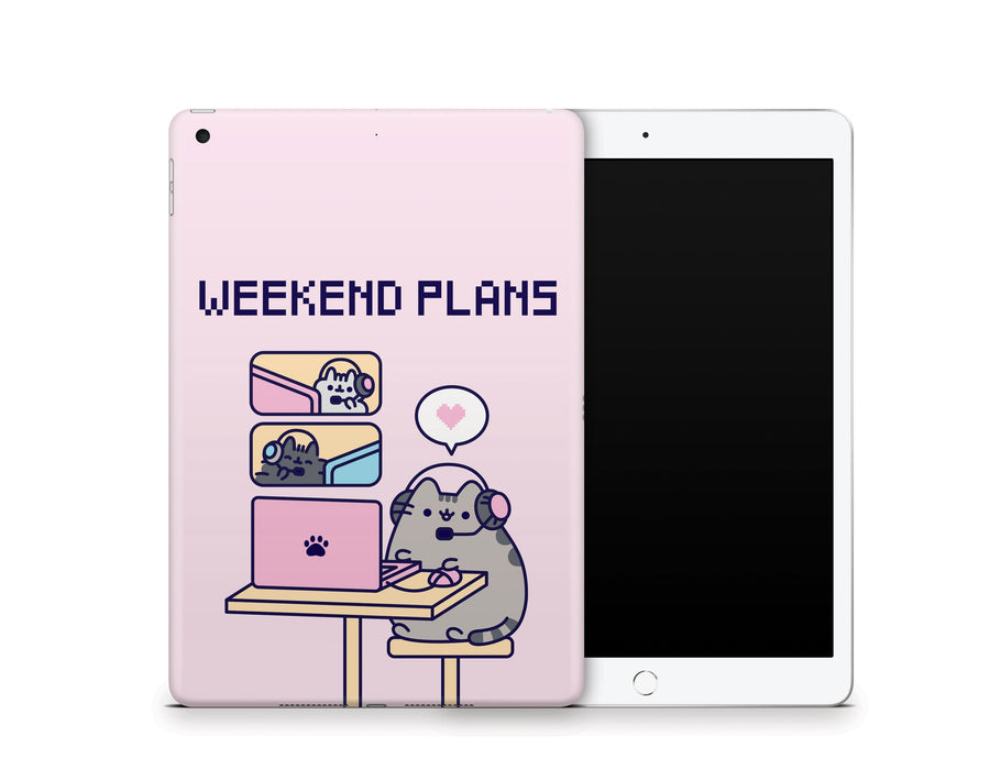"Sticky Bunny Shop iPad 10.2"" Gen 7 (2019) Gaming Pusheen iPad 10.2"" Gen 7 (2019) Skin"