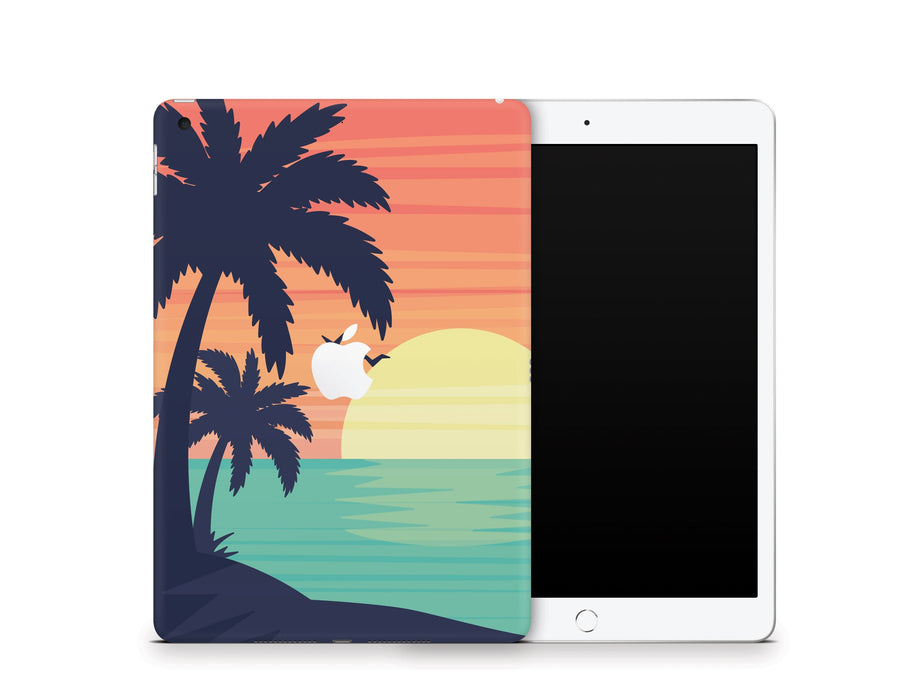 "Sticky Bunny Shop iPad 10.2"" Gen 8 (2020) Sunset Beach iPad 10.2"" Gen 8 (2020) Skin"