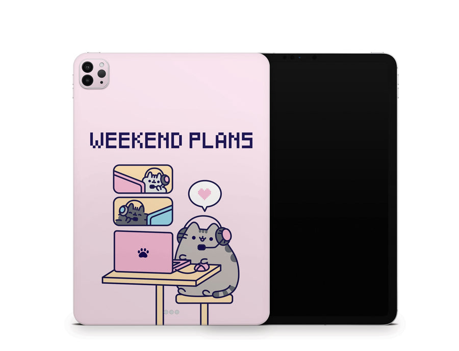"Sticky Bunny Shop iPad Pro 11"" Gen 2 (2020) Gaming Pusheen iPad Pro 11"" Gen 2 (2020) Skin"