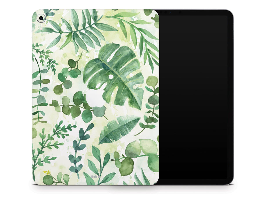 "Sticky Bunny Shop iPad Pro 12.9"" Gen 3 (2018-2019) iPad Pro 12.9"" Gen 3 (2018-2019) Watercolor Leaves iPad Pro 12.9"" Gen 3 (2018-2019) Skin"