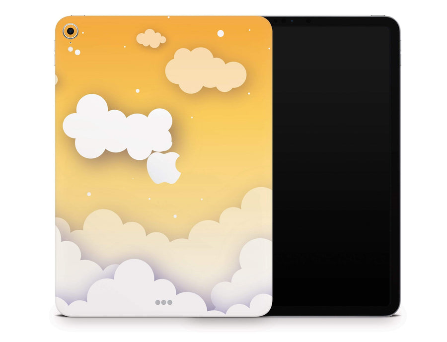 "Sticky Bunny Shop iPad Pro 12.9"" Gen 3 (2018-2019) iPad Pro 12.9"" Gen 3 (2018-2019) Yellow Clouds In The Sky iPad Pro 12.9"" Gen 3 (2018-2019) Skin"