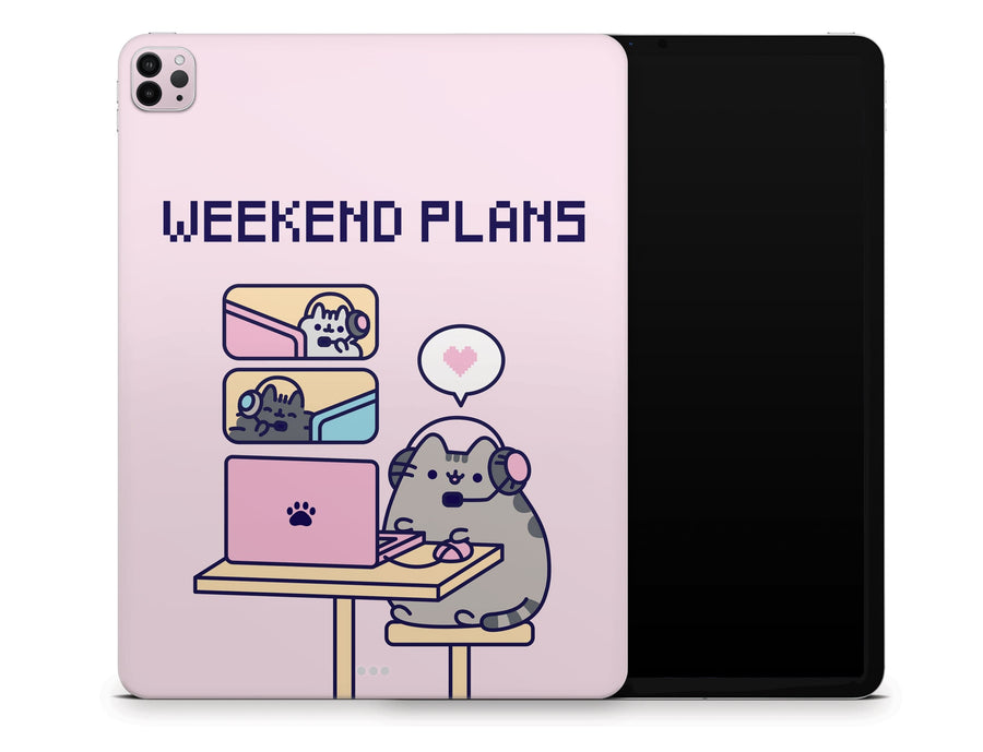 "Sticky Bunny Shop iPad Pro 12.9"" Gen 4 (2020) Gaming Pusheen iPad Pro 12.9"" Gen 4 (2020) Skin"