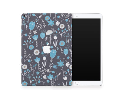 Sticky Bunny Shop iPad Skins iPad Air 3 Cute Blue Flowers iPad Skin