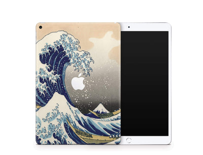 Sticky Bunny Shop iPad Skins iPad Air 3 Great Wave Off Kanagawa By Hokusai iPad Skin