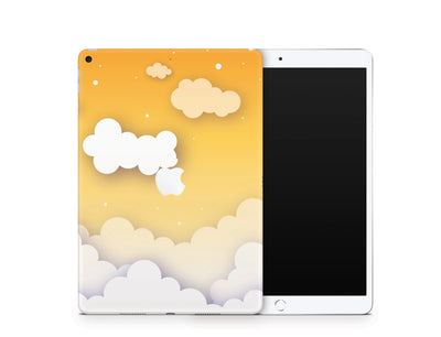 Sticky Bunny Shop iPad Skins iPad Air 3 Yellow Clouds In The Sky iPad Skin