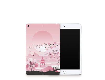 Sticky Bunny Shop iPad Skins iPad Mini 5 Pink Sakura iPad Skin