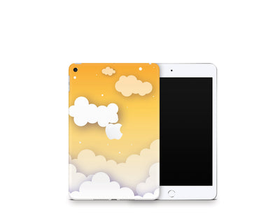 Sticky Bunny Shop iPad Skins iPad Mini 5 Yellow Clouds In The Sky iPad Skin