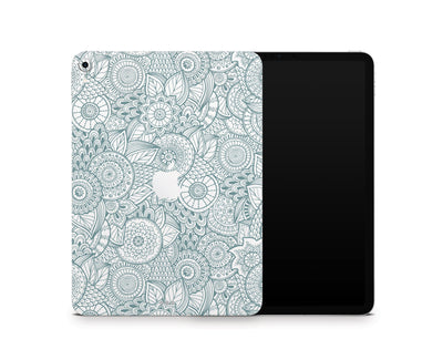 "Sticky Bunny Shop iPad Skins iPad Pro 11"" Gen 1 (2018-2019) Abstract Floral iPad Skin"