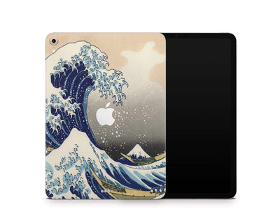 "Sticky Bunny Shop iPad Skins iPad Pro 11"" Gen 1 (2018-2019) Great Wave Off Kanagawa By Hokusai iPad Skin"
