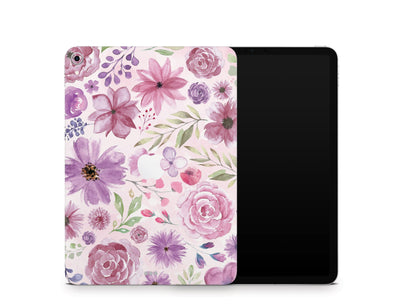 "Sticky Bunny Shop iPad Skins iPad Pro 11"" Gen 1 (2018-2019) Watercolor Flowers iPad Skin"