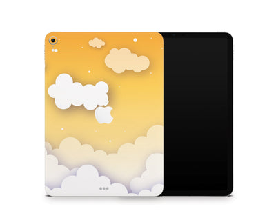 "Sticky Bunny Shop iPad Skins iPad Pro 11"" Gen 1 (2018-2019) Yellow Clouds In The Sky iPad Skin"