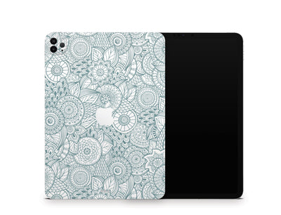 "Sticky Bunny Shop iPad Skins iPad Pro 11"" Gen 2 (2020) Abstract Floral iPad Skin"