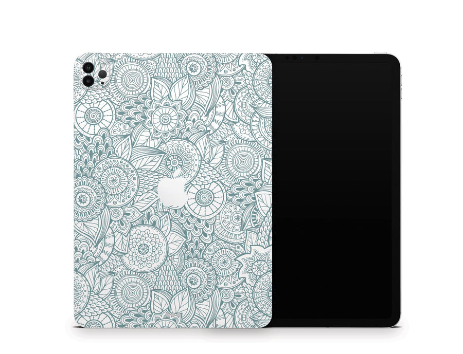 Sticky Bunny Shop iPad Skins iPad Air 3 Abstract Floral iPad Skin