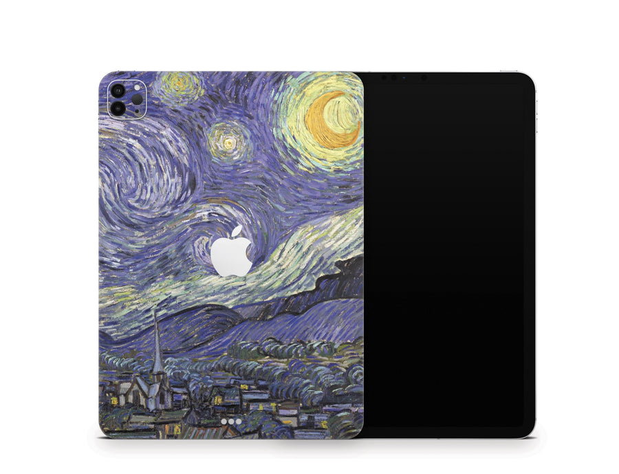 Sticky Bunny Shop iPad Skins iPad Air 3 Starry Night By Van Gogh iPad Skin