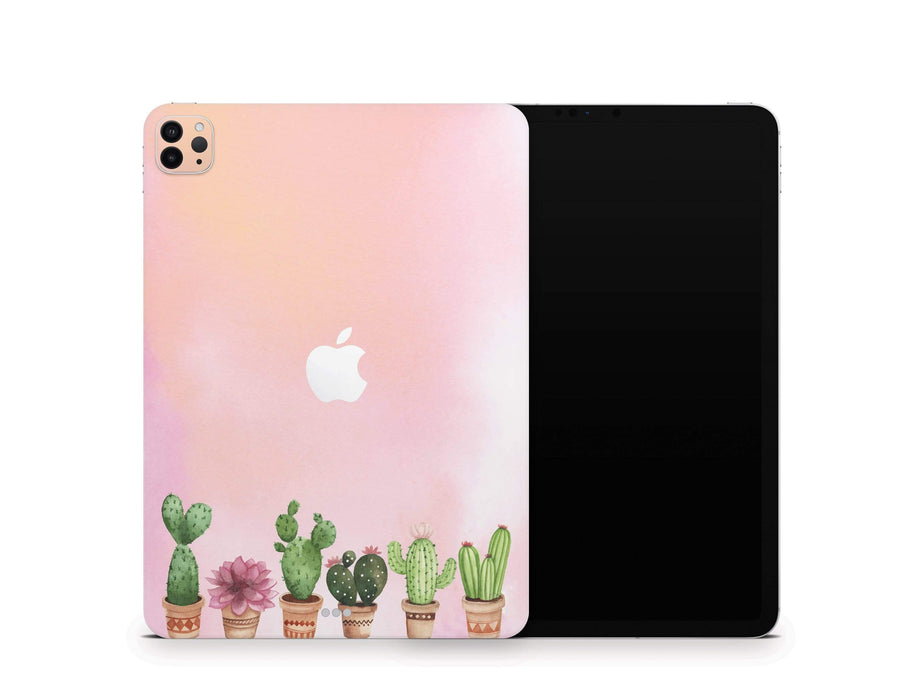 Sticky Bunny Shop iPad Skins iPad Air 3 Watercolor Cactus iPad Skin