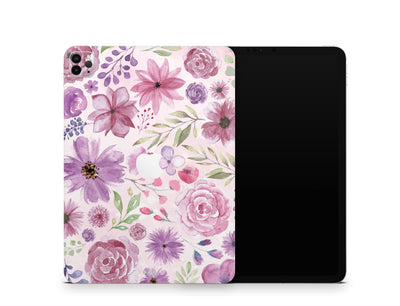 "Sticky Bunny Shop iPad Skins iPad Pro 11"" Gen 2 (2020) Watercolor Flowers iPad Skin"
