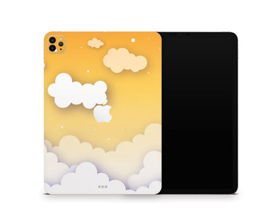"Sticky Bunny Shop iPad Skins iPad Pro 11"" Gen 2 (2020) Yellow Clouds In The Sky iPad Skin"