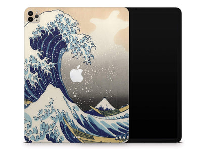 "Sticky Bunny Shop iPad Skins iPad Pro 12.9"" Gen 4 (2020) Great Wave Off Kanagawa By Hokusai iPad Skin"