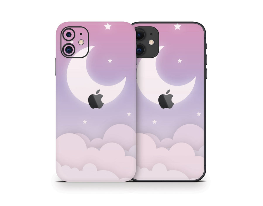 Sticky Bunny Shop iPhone 11 Cute Lunar Sky iPhone 11 Skin