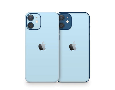 Sticky Bunny Shop iPhone 11 Pro Max Baby Blue Cute Solid Pastel iPhone 12 Skin | Choose Your Color