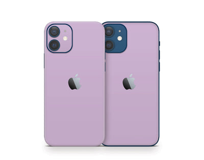 Sticky Bunny Shop iPhone 11 Pro Max Lavender Cute Solid Pastel iPhone 12 Skin | Choose Your Color