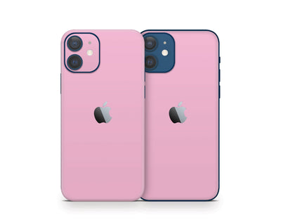 Sticky Bunny Shop iPhone 11 Pro Max Pastel Pink Cute Solid Pastel iPhone 12 Skin | Choose Your Color