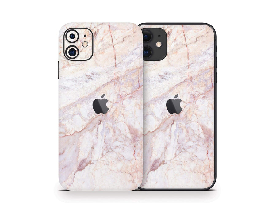 Sticky Bunny Shop iPhone 11 Rose Gold Marble iPhone 11 Skin