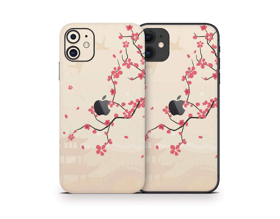 Sticky Bunny Shop iPhone 11 Sakura Blossoms iPhone 11 Skin