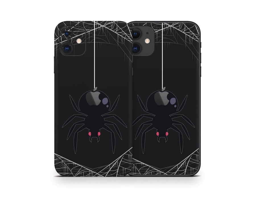 Sticky Bunny Shop iPhone 11 Spooky Spider iPhone 11 Skin