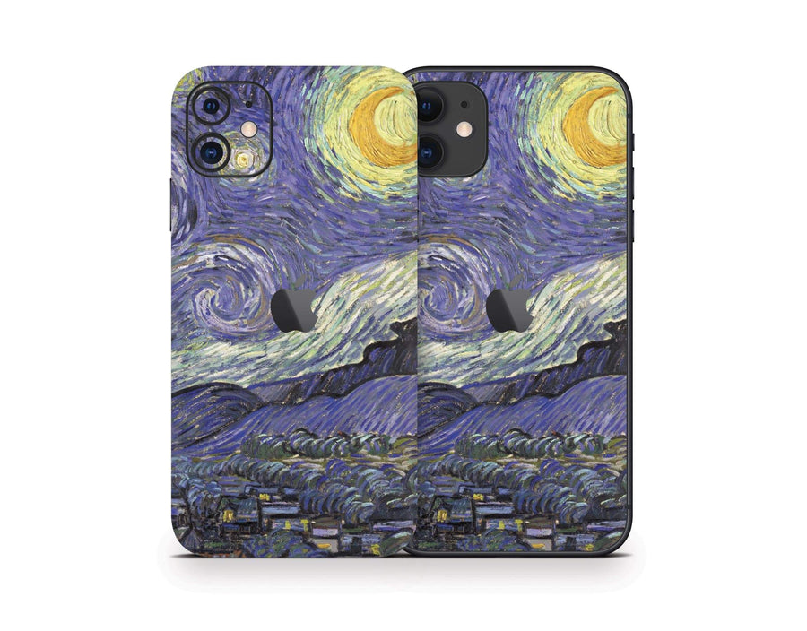 Sticky Bunny Shop iPhone 11 Starry Night By Van Gogh iPhone 11 Skin