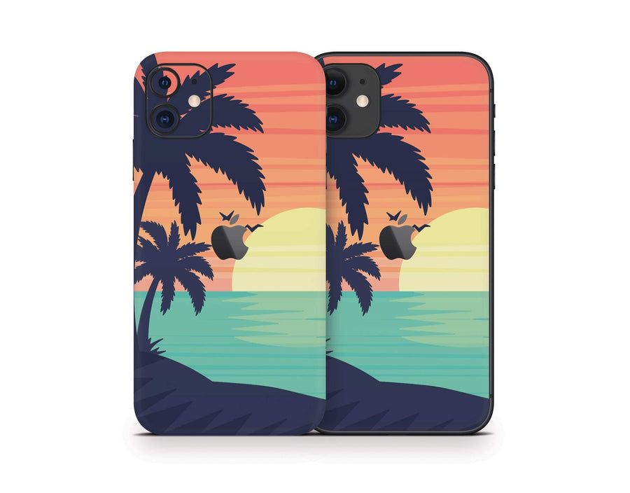 Sticky Bunny Shop iPhone 11 Sunset Beach iPhone 11 Skin